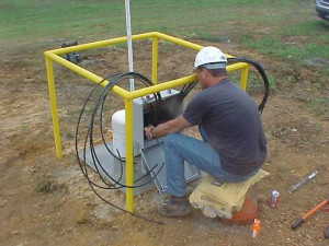 Junction Box Installation for Anodes