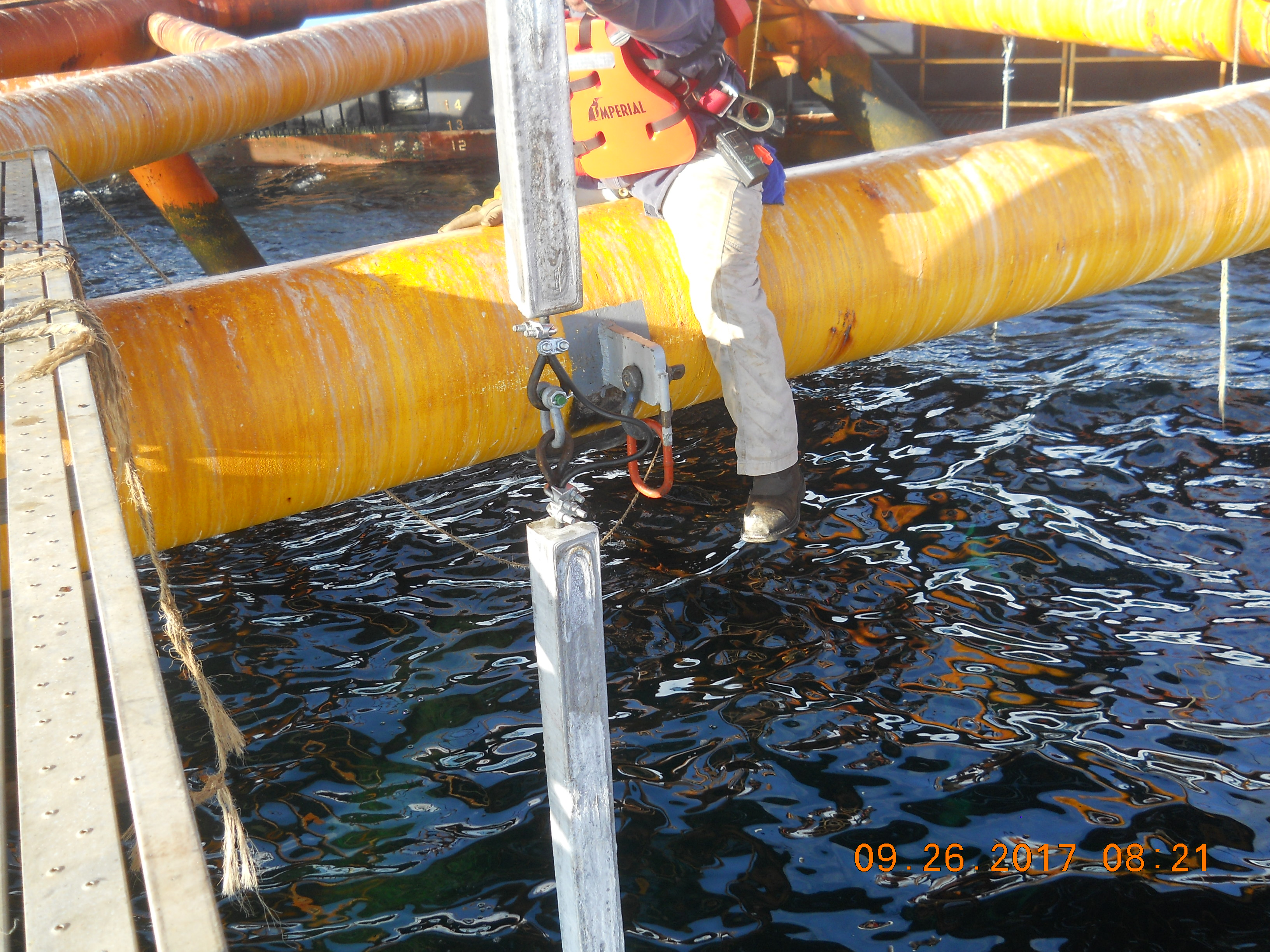 Water Pipe Structures : Off shore cathodic protection systems galvotec corrosion